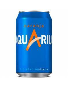 Aquarius Naranja Lata 33Cl...
