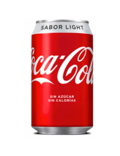 Cocacola Light Lata 33Cl 24...