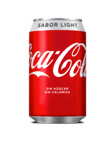 Cocacola Light Lata 33Cl 24 Uds