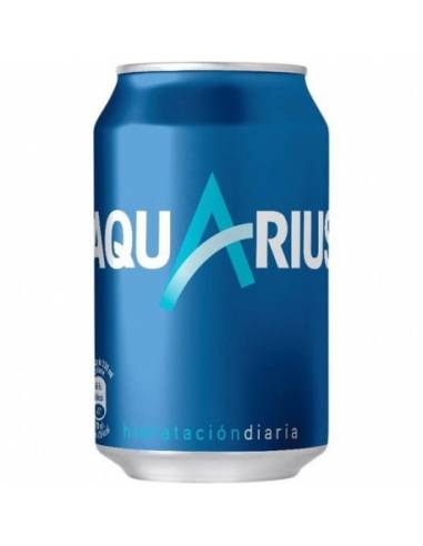 Aquarius Limón Lata 33Cl 24 Uds